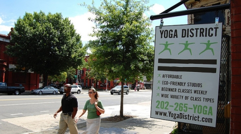 Yoga District, 14th & T St NW